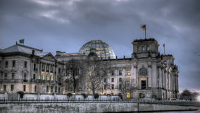 Reichstag Berlijn stock video