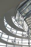 Reichstag in Berlijn Stock Afbeelding