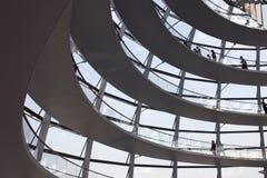 Reichstag in Berlijn Stock Foto's