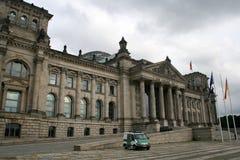Reichstag - Berlijn Royalty-vrije Stock Foto