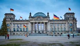 Reichstag Berlijn, Duitsland stock afbeeldingen