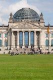 Reichstag in Berlijn, Duitsland Stock Afbeeldingen