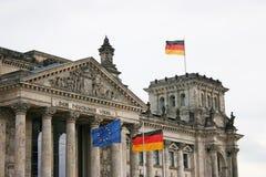 Reichstag - Berlijn, Duitsland Stock Foto