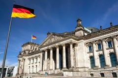 Reichstag in Berlijn, Duitsland Stock Fotografie