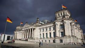 Reichstag in Berlijn. Duitsland Royalty-vrije Stock Foto's
