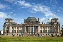 Reichstag, Berlim Foto de Stock Royalty Free