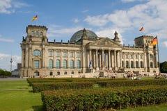 Reichstag - Berlim imagens de stock