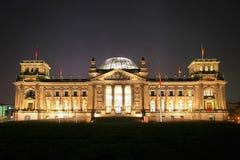 Reichstag Berlim fotografia de stock
