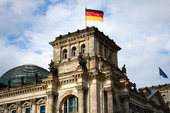 Reichstag, Berlim Imagem de Stock Royalty Free
