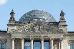 Reichstag Berlim Imagem de Stock