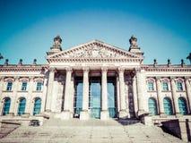 Reichstag, Berlim, Alemanha Fotos de Stock Royalty Free