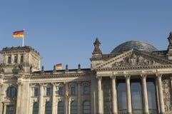 Reichstag Berlin Lizenzfreie Stockfotos