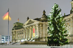 Reichstag in berlin stock photo