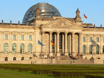 Reichstag Berlin Royalty Free Stock Photo