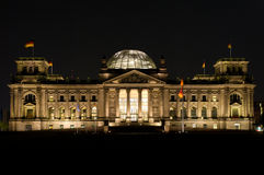 Reichstag in Berlin Stock Photos