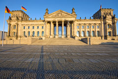 The Reichstag in Berlin Stock Image