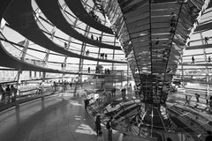 The Reichstag in Berlin Royalty Free Stock Photography