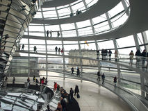 Reichstag of Berlin Stock Photography