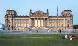 reichstag berlin Стоковое Изображение RF