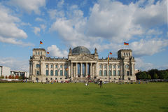 Reichstag in Berlin. German Parliament in Berlin in summer Stock Image