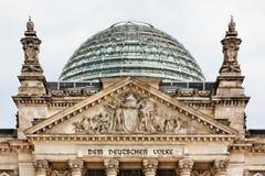 Reichstag Berlin Allemagne Photos stock