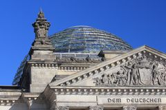 Reichstag Berlin Allemagne images stock