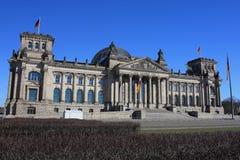 Reichstag Berlin Allemagne photographie stock libre de droits