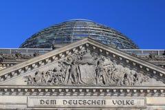 Reichstag Berlin Allemagne photos libres de droits