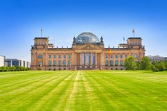 Reichstag Berlin building Deutscher Bundestag Stock Images