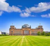 Reichstag Berlin building Deutscher Bundestag. The Reichstag Berlin building Deutscher Bundestag in Germany Stock Photo