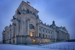 Reichstag in Berlin Stock Photography