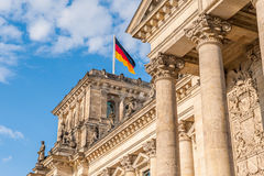 Reichstag in Berlin Royalty Free Stock Images