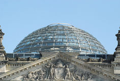 Reichstag Berlin Royalty Free Stock Photography