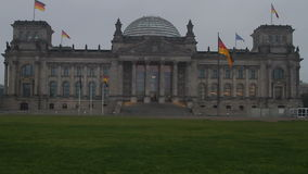 Reichstag Berlin stock video