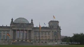 Reichstag Berlin stock footage