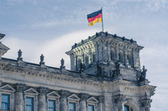 The Reichstag in Berlin Royalty Free Stock Photos