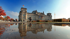 Reichstag of Berlin Royalty Free Stock Photos