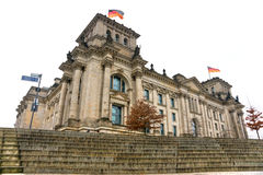 Reichstag, Berlin, Germany. Royalty Free Stock Images