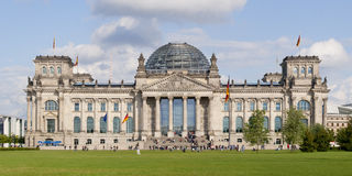 Reichstag in Berlin, Germany. The Reichstag building in Berlin, Germany - high resolution Stock Photography