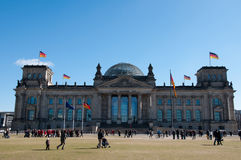 Reichstag  Berlin Germany Royalty Free Stock Photography