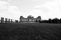 Reichstag Berlin Germany. The Reichstag Building in Berlin, Germany Royalty Free Stock Images