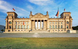 Reichstag in Berlin, Germany Stock Image