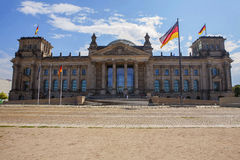 The Reichstag in Berlin Stock Photography