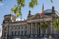 The Reichstag in Berlin Royalty Free Stock Image