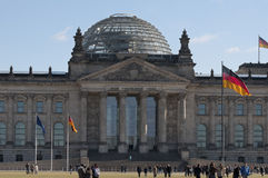 Reichstag Berlin Germany Royalty Free Stock Photos