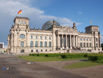 Reichstag in Berlin Royalty Free Stock Photos