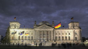 Reichstag Berlin stock video footage