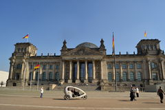 Reichstag in Berlin Stock Images