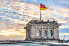 Reichstag Stock Photo