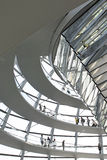 The Reichstag in Berlin. View of the Reichstag in Berlin Stock Image